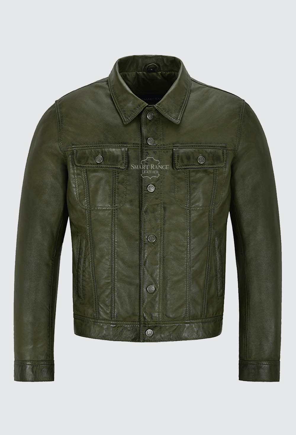 Trucker leather jacket, Classic Trucker jacket, Trucker jackets