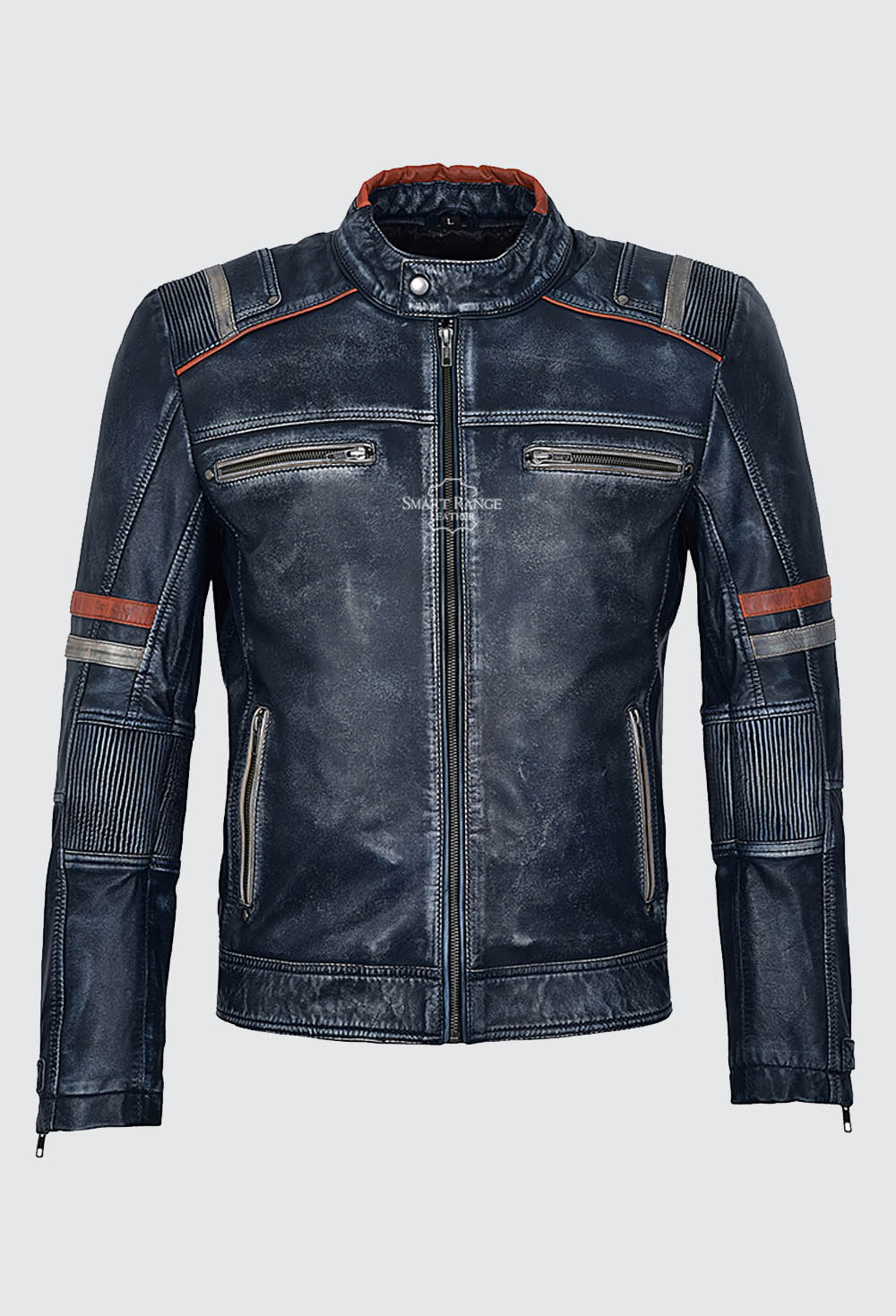 Men's Biker leather jackets, Vintage distressed leather jackets